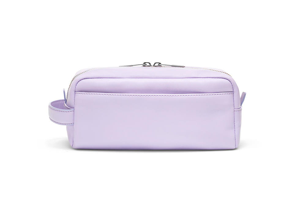 Away Salt and Stone Dopp Kit Lilac Purple Lavender Travel