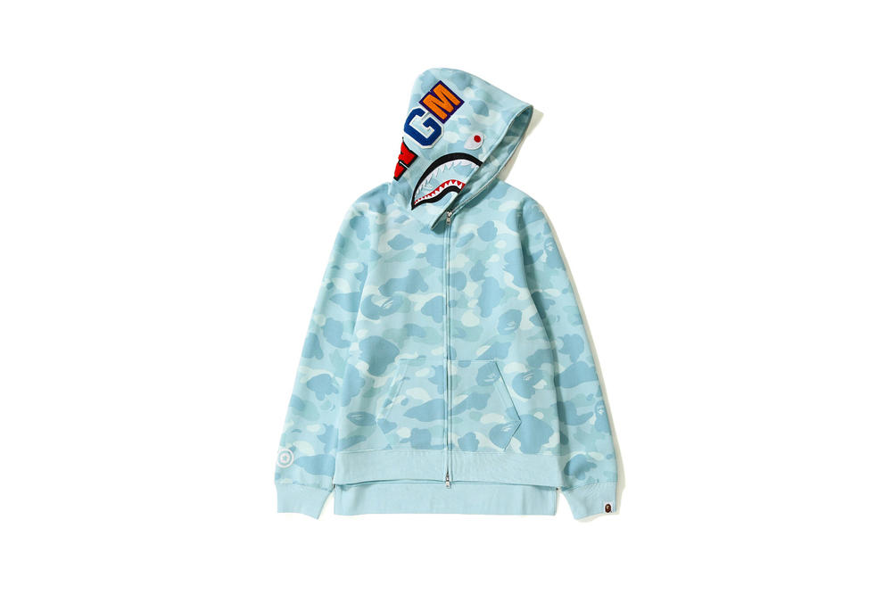 bape a bathing ape womens exclusive pastel camo print tees polos headbands  shark full zip hoodies 8900e4d1fb
