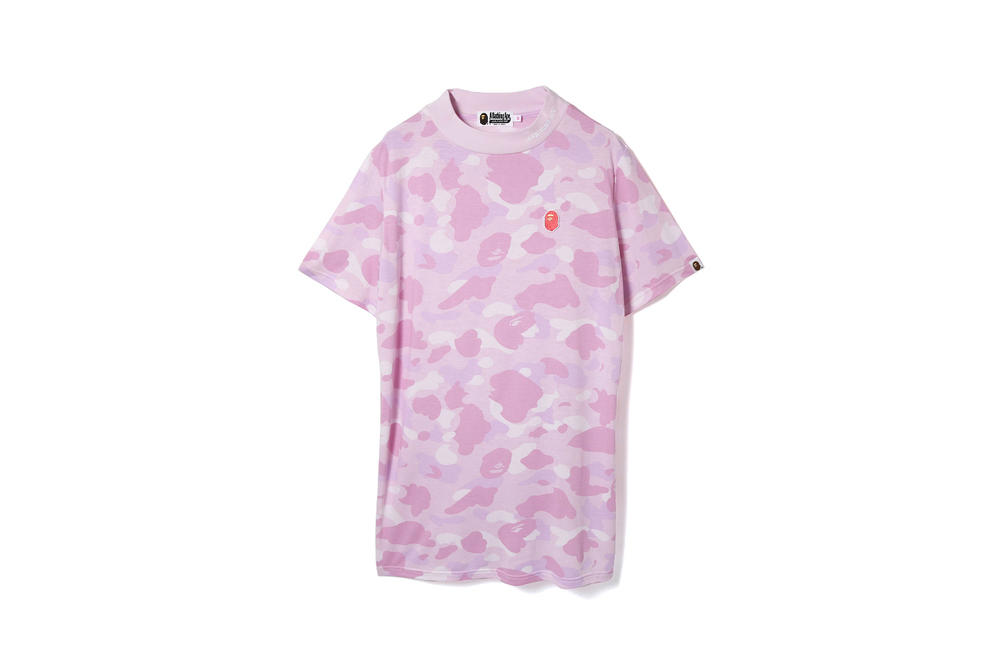 bape a bathing ape womens exclusive pastel camo print tees polos headbands shark full zip hoodies