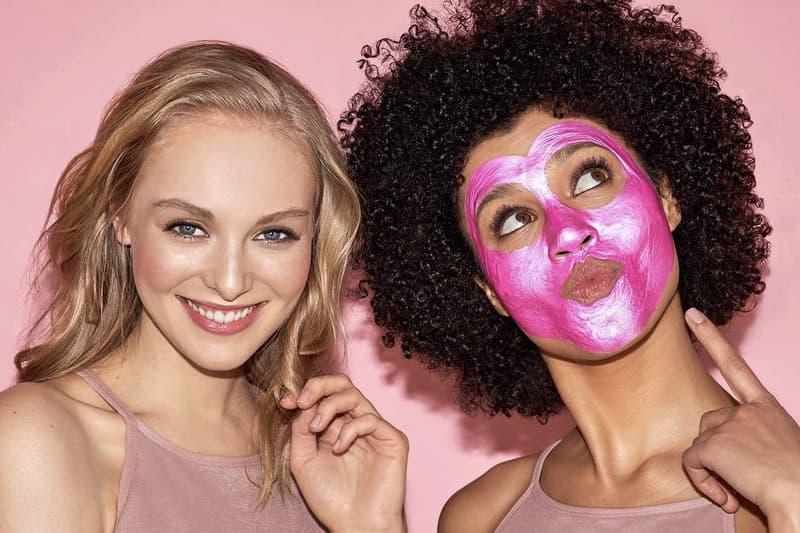 BECCA x GLAMGLOW Pink GravityMud Mask Shimmering Skin Perfector Beauty Collaboration