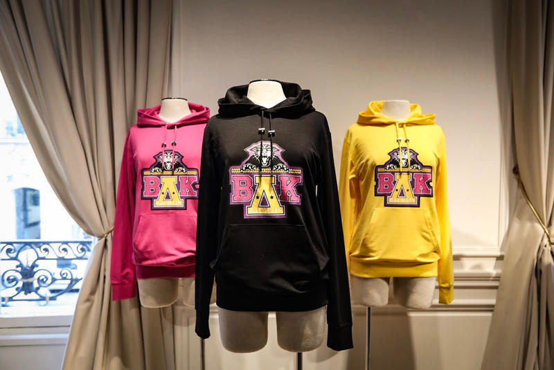 Beyonce Balmain Coachella Capsule Collection Hoodie T-shirt Olivier Rousteing UNCF
