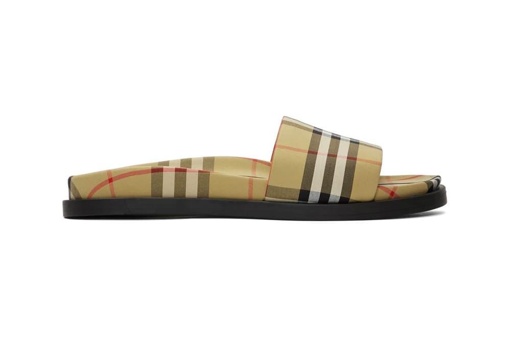 Burberry Ashmore Slides Check