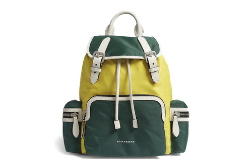 cda85527b7 Channel the Grown-Up Girl Scout Look in Burberry's Color-Blocked Backpack