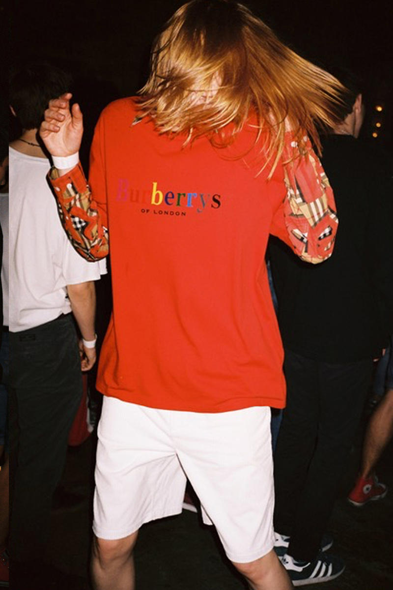 Burberry x Opening Ceremony Reissued Cotton T-shirt Red