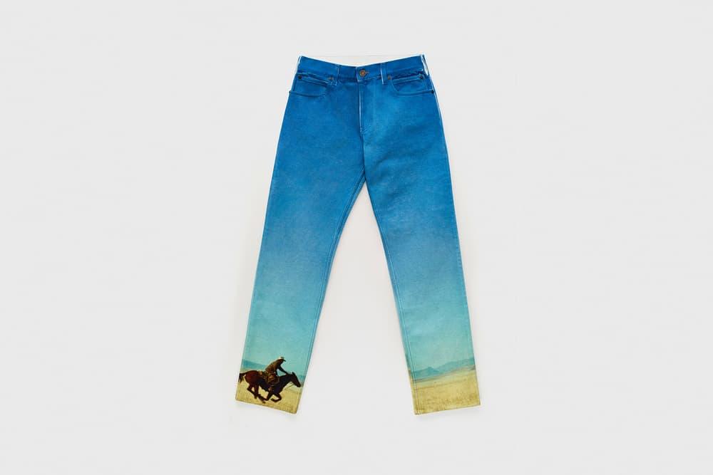 CALVIN KLEIN EST. 1978 Collection Motif Jeans Blue
