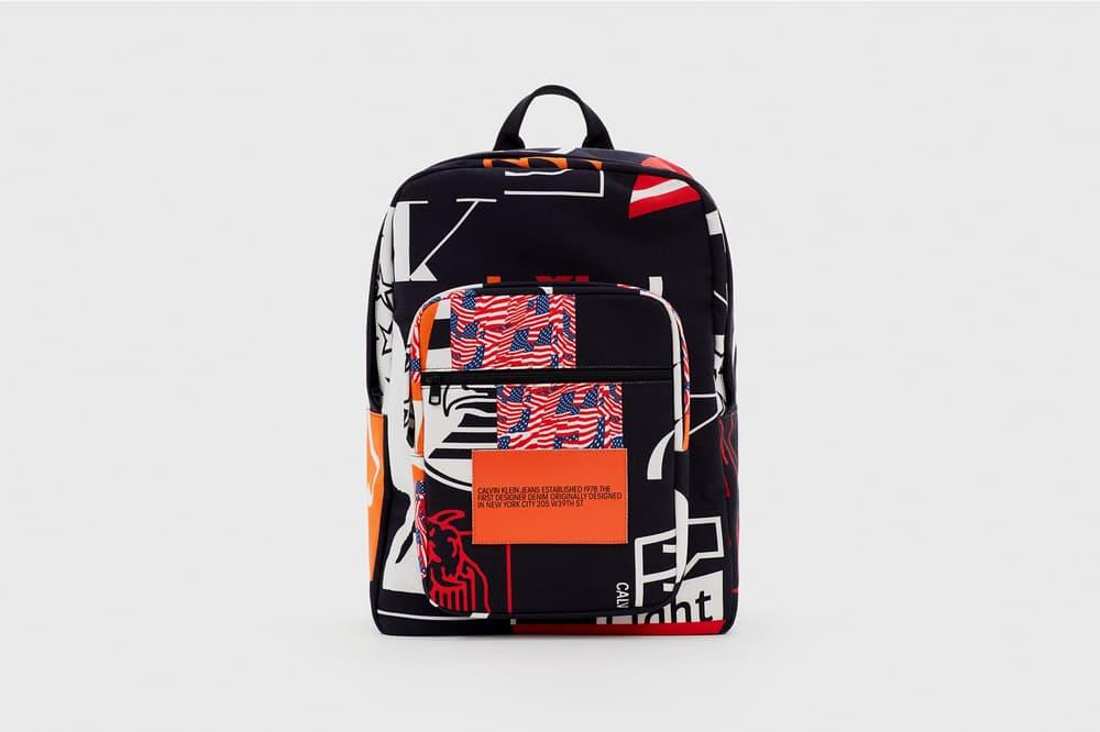 CALVIN KLEIN EST. 1978 Collection Backpack Black Red