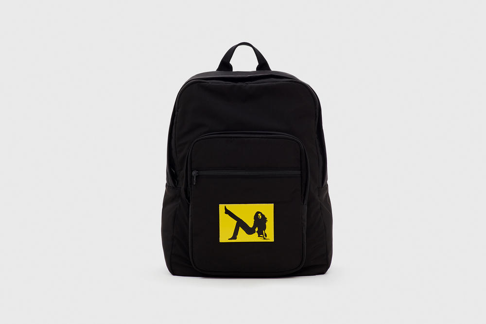 CALVIN KLEIN EST. 1978 Collection Backpack Black Yellow