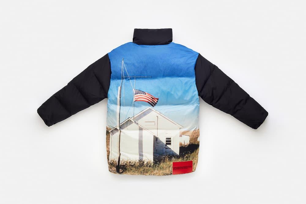 CALVIN KLEIN EST. 1978 Collection Puffer Jacket Blue Black
