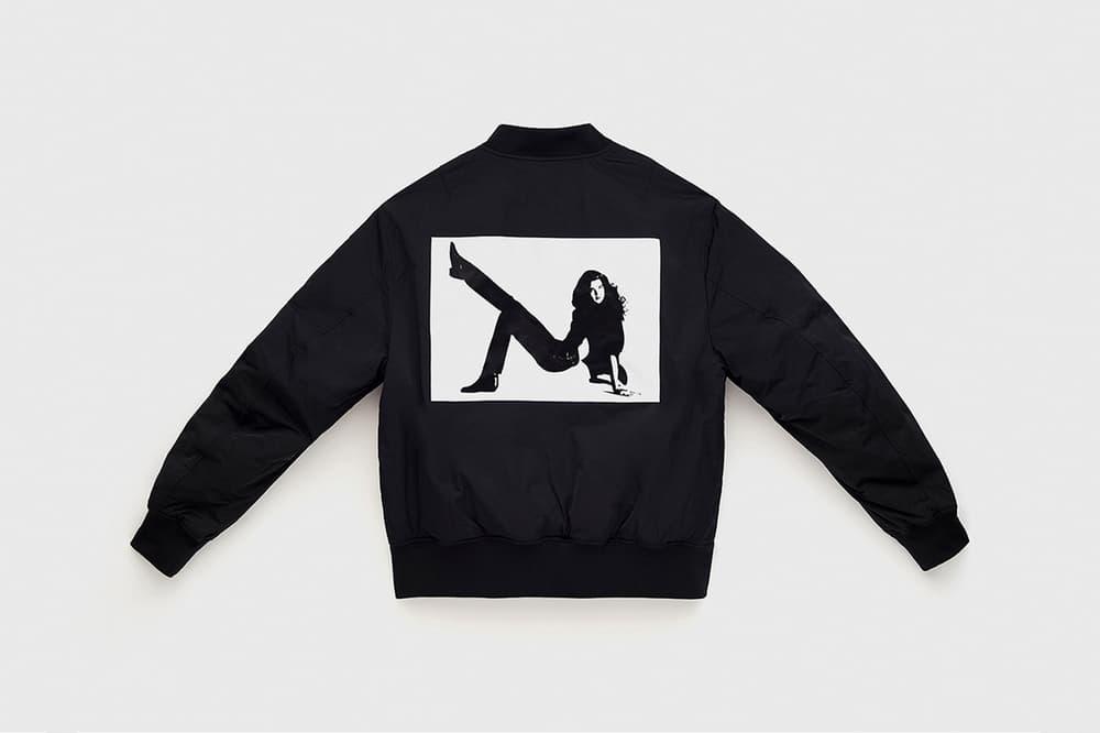 CALVIN KLEIN EST. 1978 Collection Icon Printed Jacket Black White