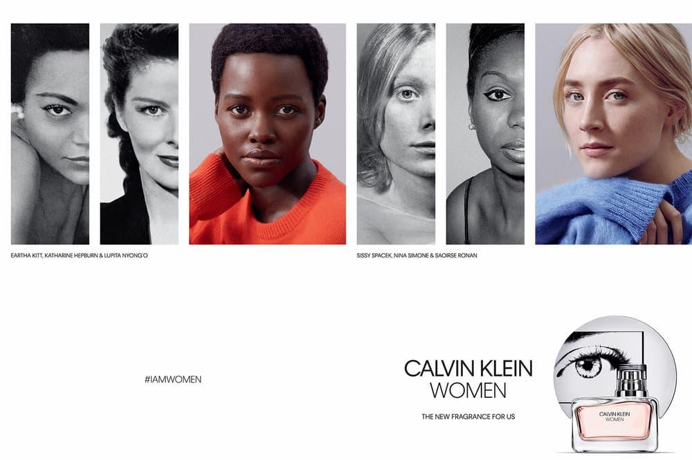 Calvin Klein Raf Simons Women Fragrance Perfume Lupita Nyong'o Saoirse Ronan