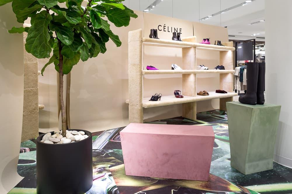Celine Shoes Footwear Boots Heels Pop-Up Nordstrom Vancouver Pacific Centre