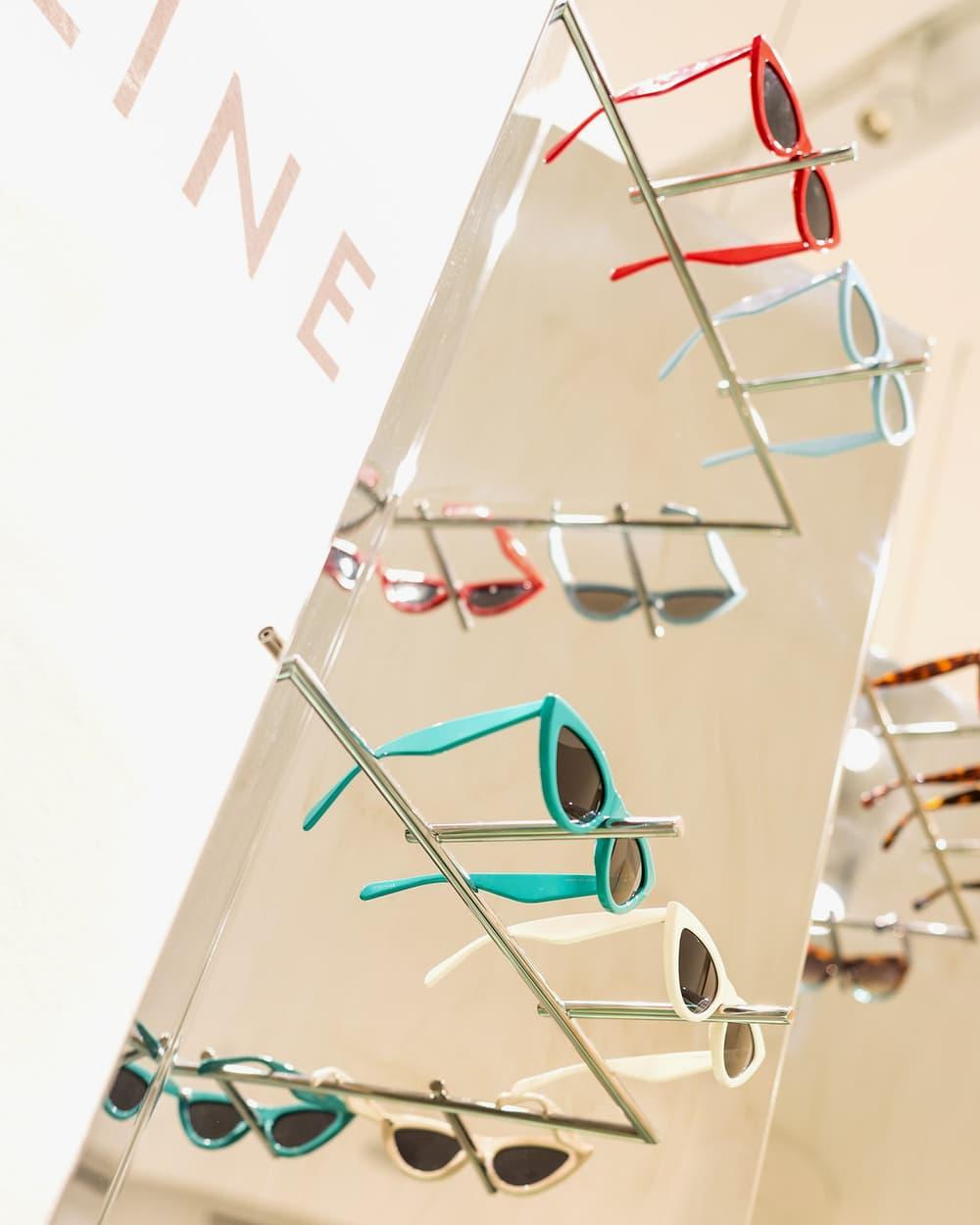Celine Sunglasses Cat Eye Pop-Up Nordstrom Vancouver Pacific Centre
