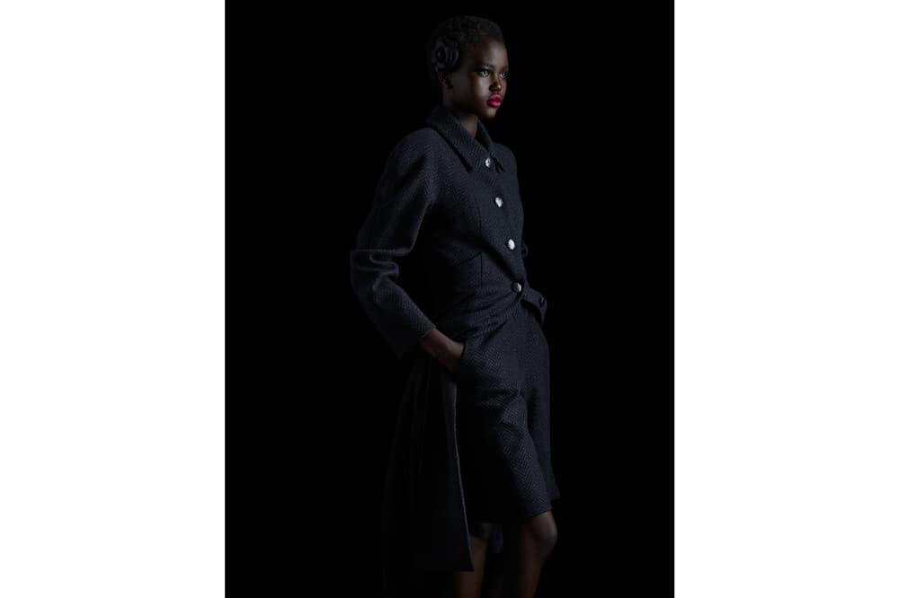 Chanel Fall Winter 2018 Pre-Collection Tweed Jacket Bermuda Shorts Black
