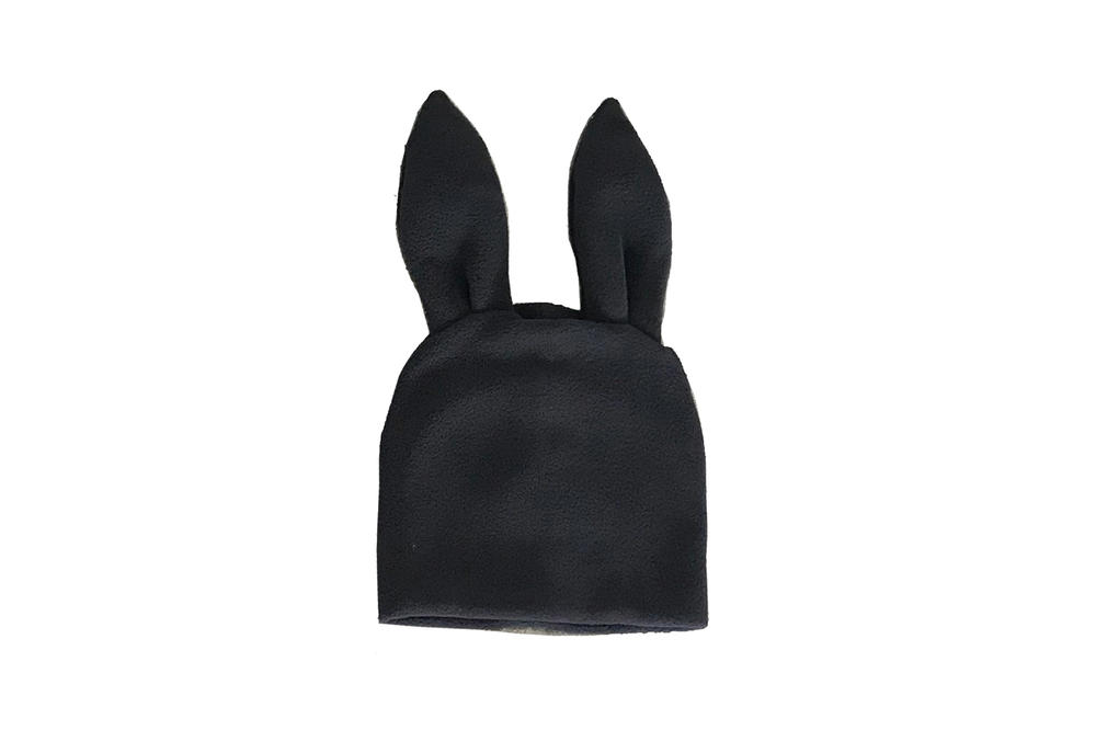 Comme des Garcons Shirt Bunny Ears Woven Beanie Black