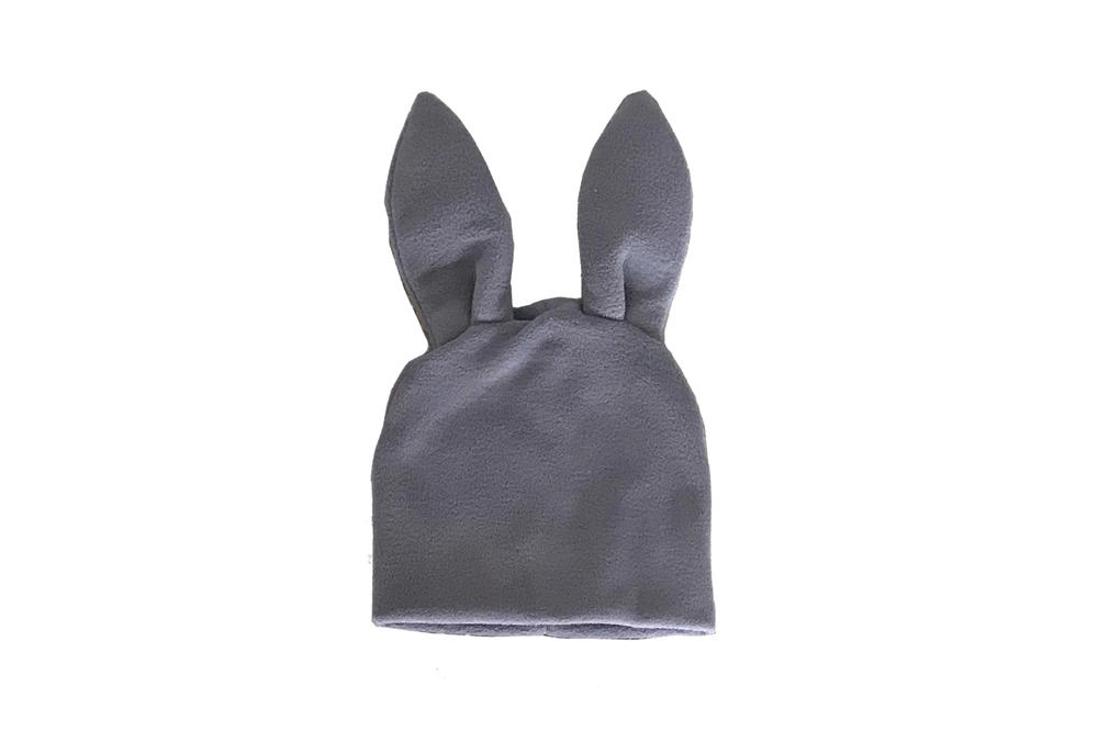 Comme des Garcons Shirt Bunny Ears Woven Beanie Grey