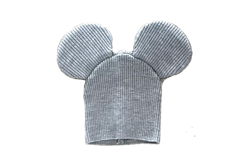 Comme des Garcons Shirt Mouse Ears Knit Beanie Grey