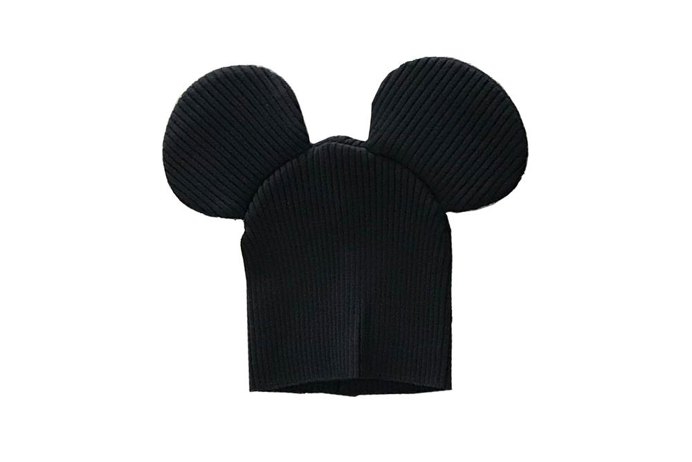 Comme des Garcons Shirt Mouse Ears Knit Beanie Black