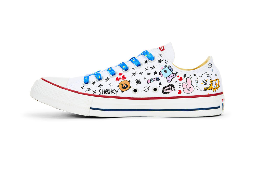 4aae48693e0ac5 converse chuck taylor all star hi ox line friends bts bt21 collaboration