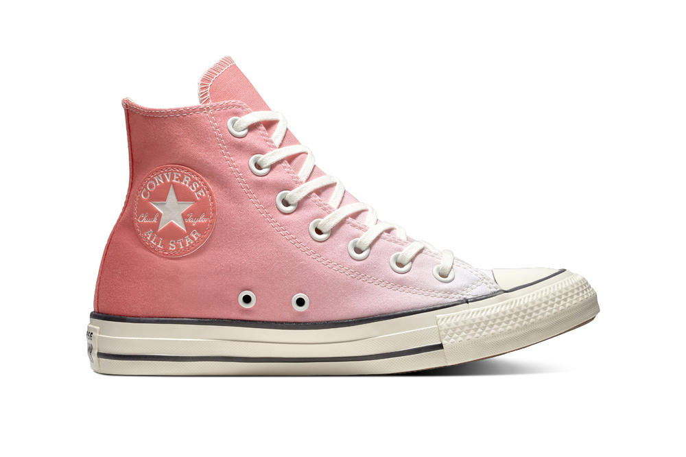 807ef8112f55 Converse Drops Pastel Ombré Gradient Sneakers Pink Blue Teal