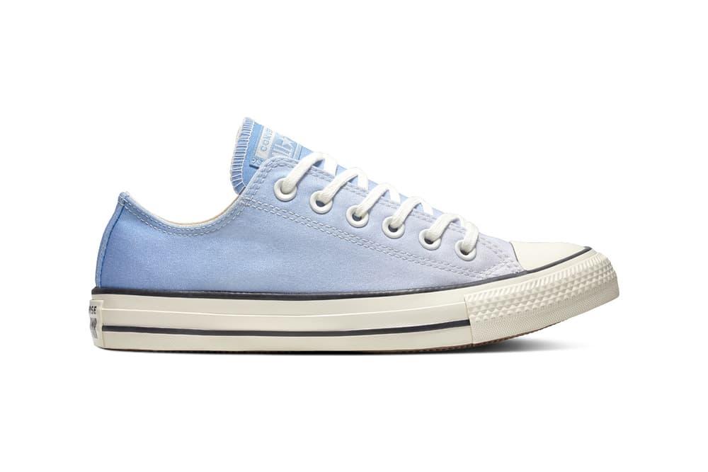 Converse Drops Pastel Ombré Gradient Sneakers Pink Blue Teal