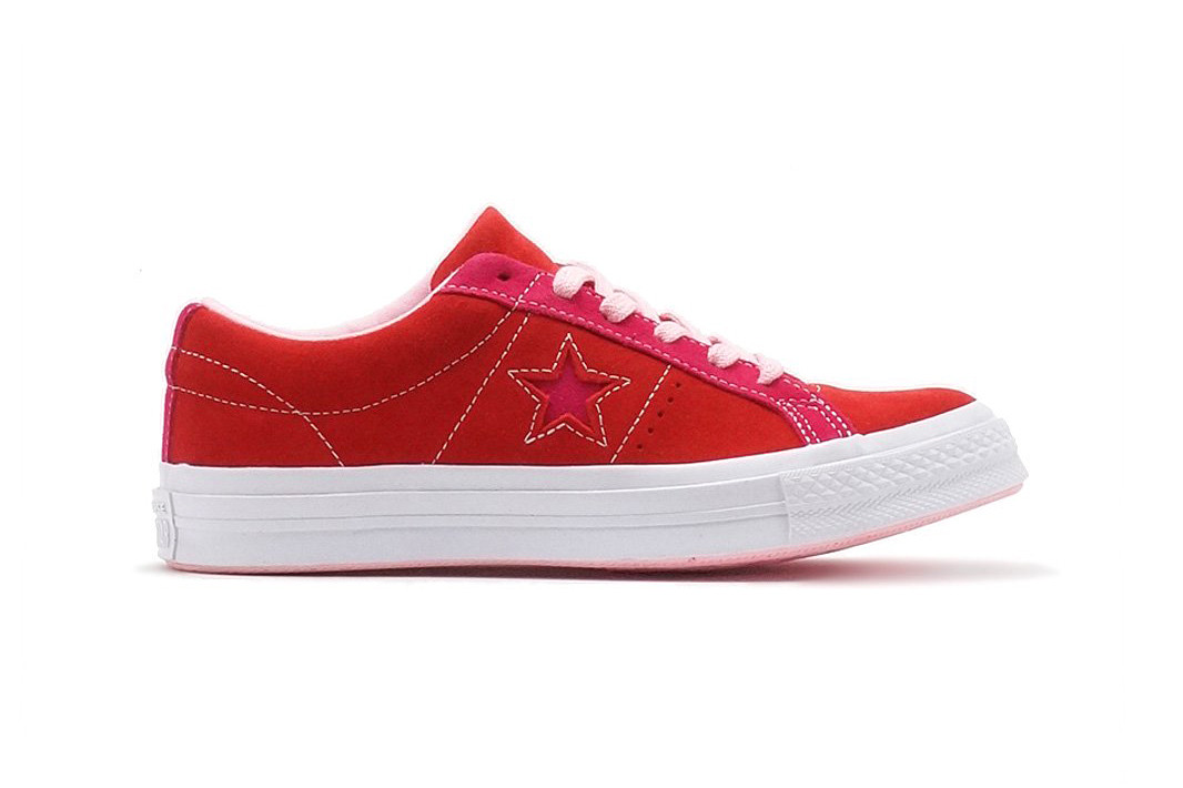 Converse One Star Carnival Enamel Red