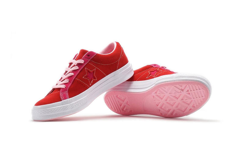 Converse One Star Carnival Enamel Red Pink Pop
