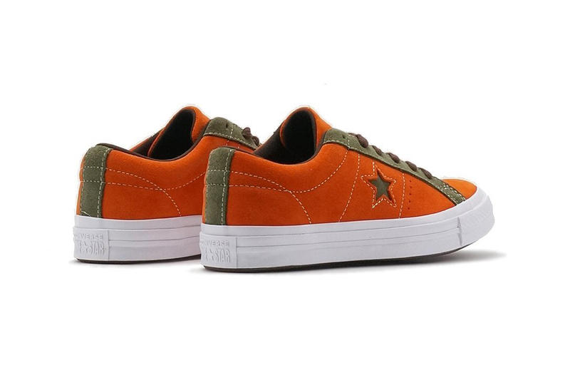 Converse One Star Carnival Mandarin Orange Green
