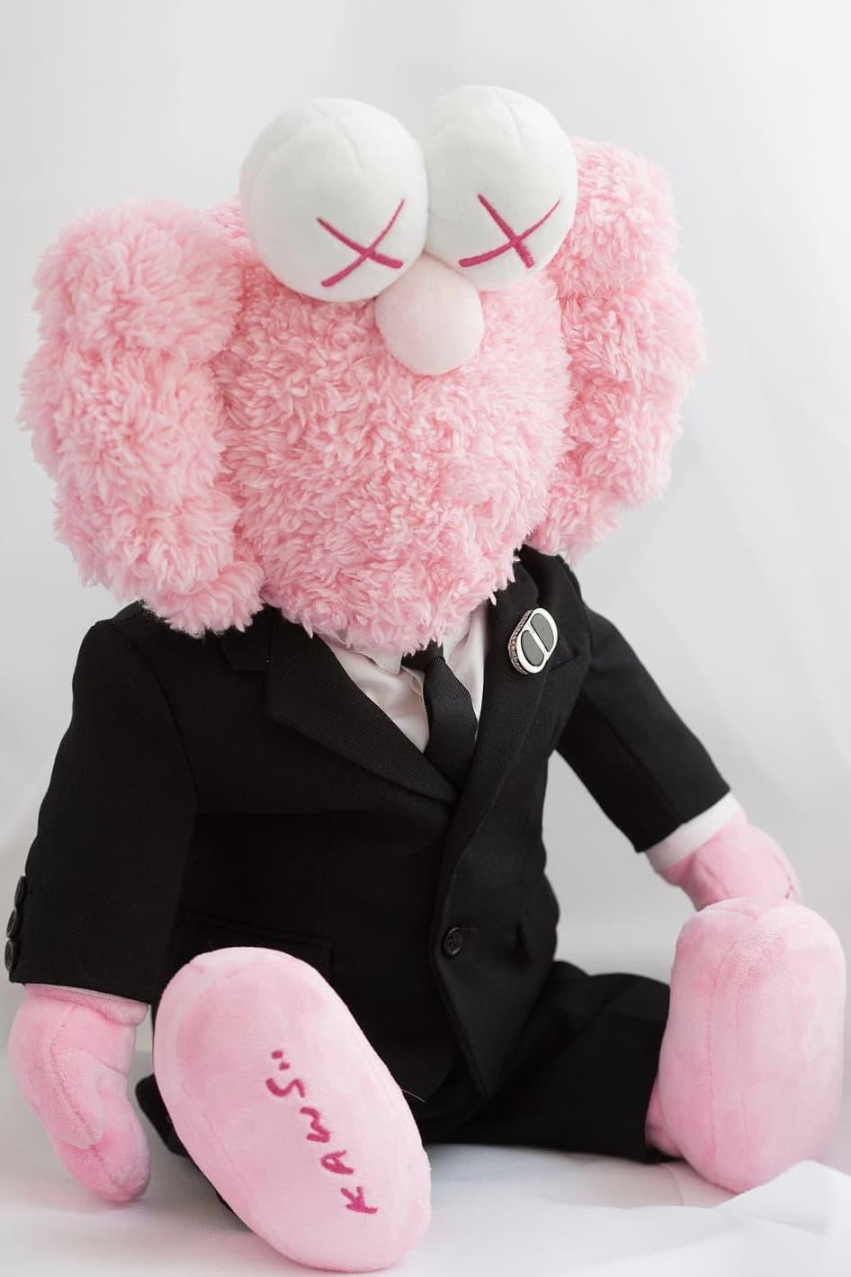 Dior Homme x Kaws Pink BFF Plush Kim Jones Paris Fashion Week Men's Spring Summer 2019