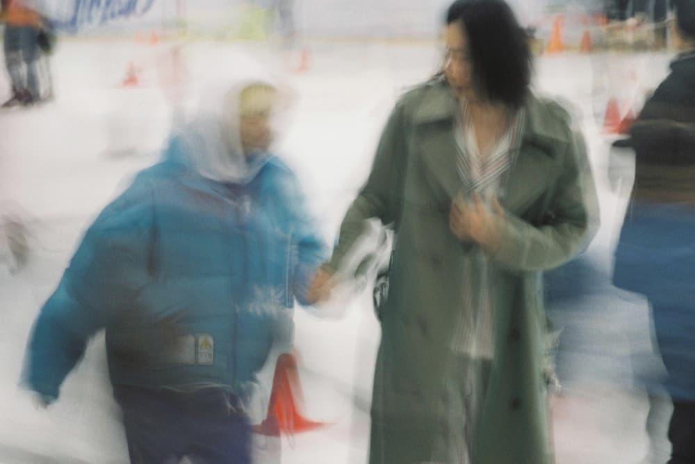 doublet Fall/Winter 2018 Lookbook Puffer Jacket Blue Hoodie White Rain Coat Tan