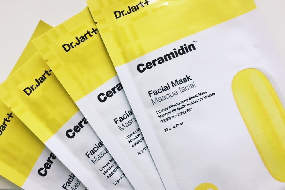 Dr.Jart Ceramidin Intense Moisturizing Sheet Mask Facial Skincare Korean Beauty K-Beauty