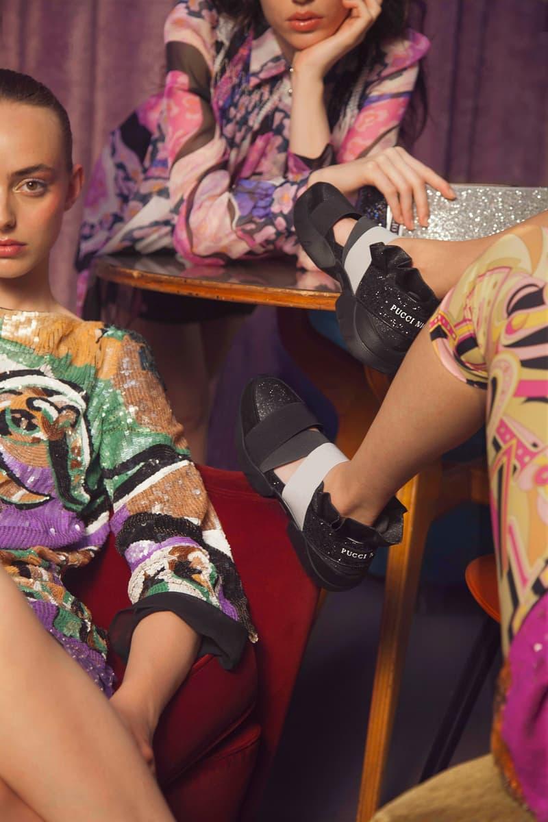 Emilio Pucci Night Sneaker Black