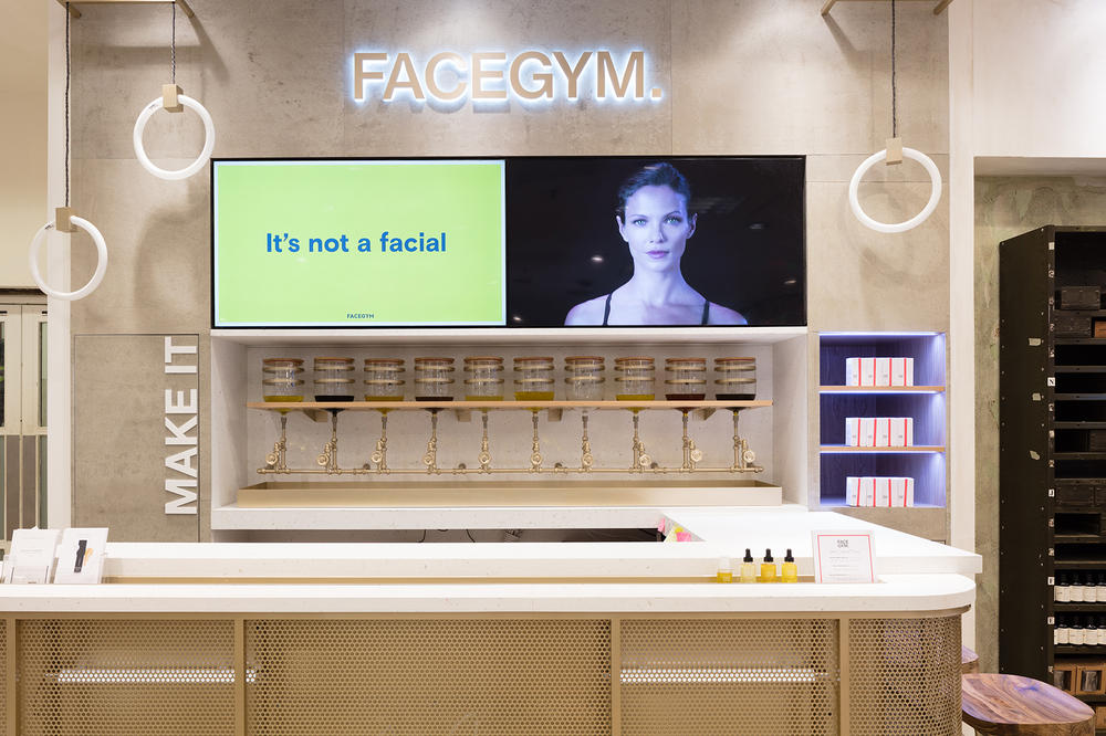 FaceGym Signature Facial Workout Review London Selfridges