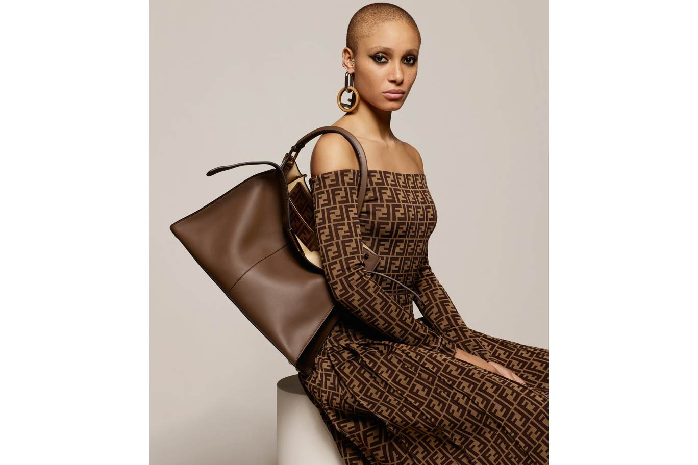Fendi Fall Winter 2018 Gigi Hadid Adwoa Aboah