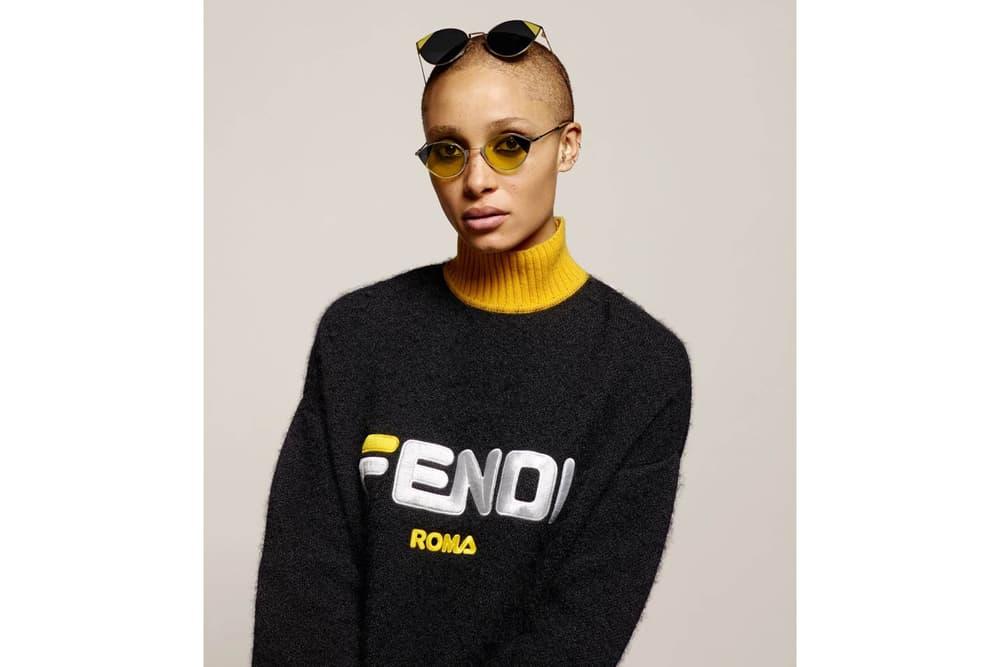 Fendi Fall Winter 2018 Gigi Hadid Adwoa Aboah