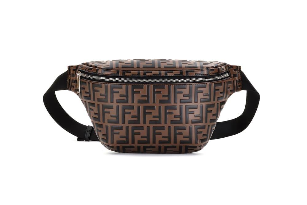 79950bab9b7f fendi ff monogram leather fanny packs accessories fall winter