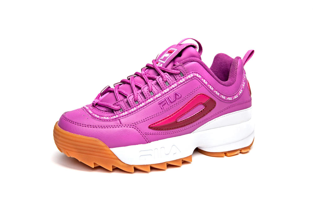 FILA Champs Sports Disruptor Pink