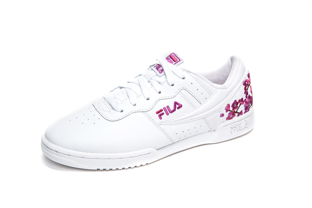 8d0859da6ff FILA Releases Pink Sneakers at Champs Sports