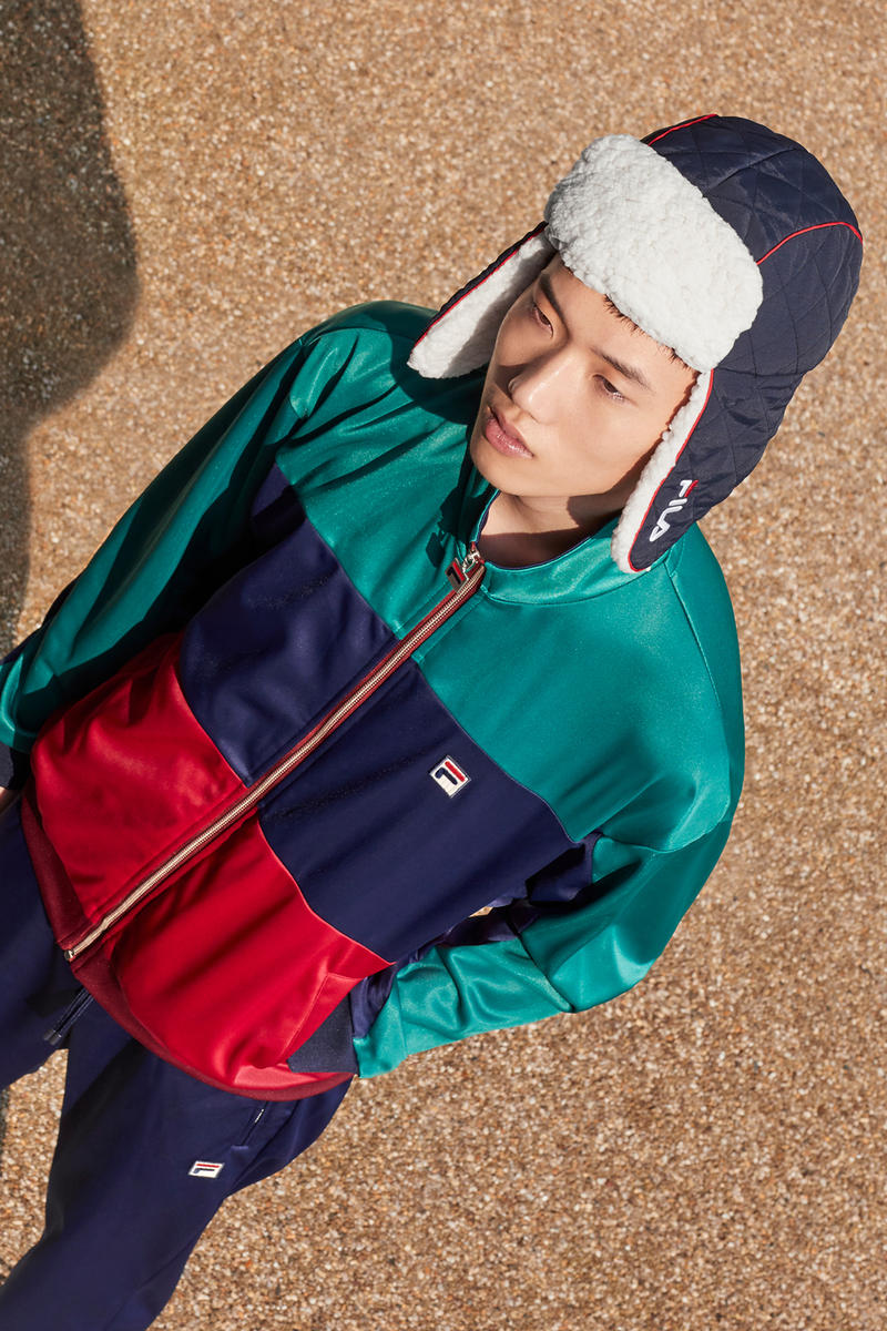 fila fall winter 2018 fw18 heritage collection archive football tracksuits