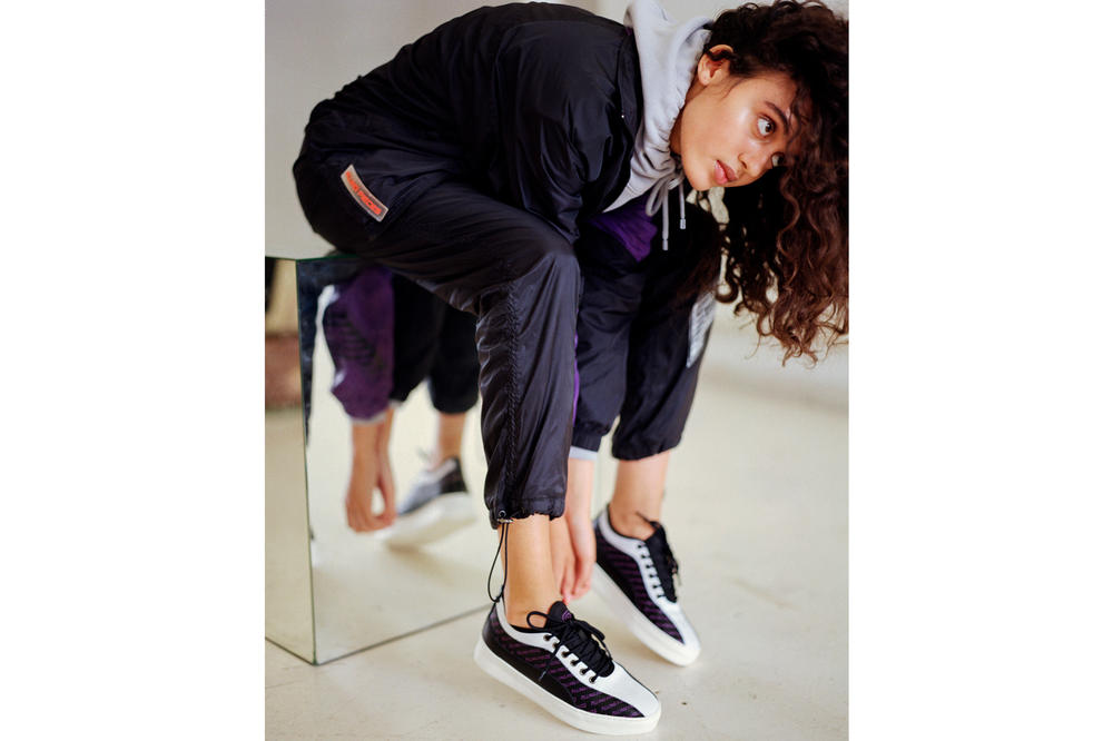 Filling Pieces First Drop Fall Winter 2018 Collection Jacket Pants Black Blue