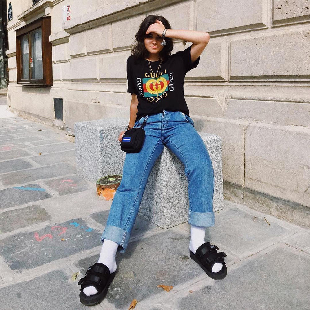 Summer Outfit Inspiration Graphic T-Shirt Tee Gucci Get the HYPEBAE Look Styling Alexander Wang Kara Suicoke Gosha Rubchinskiy