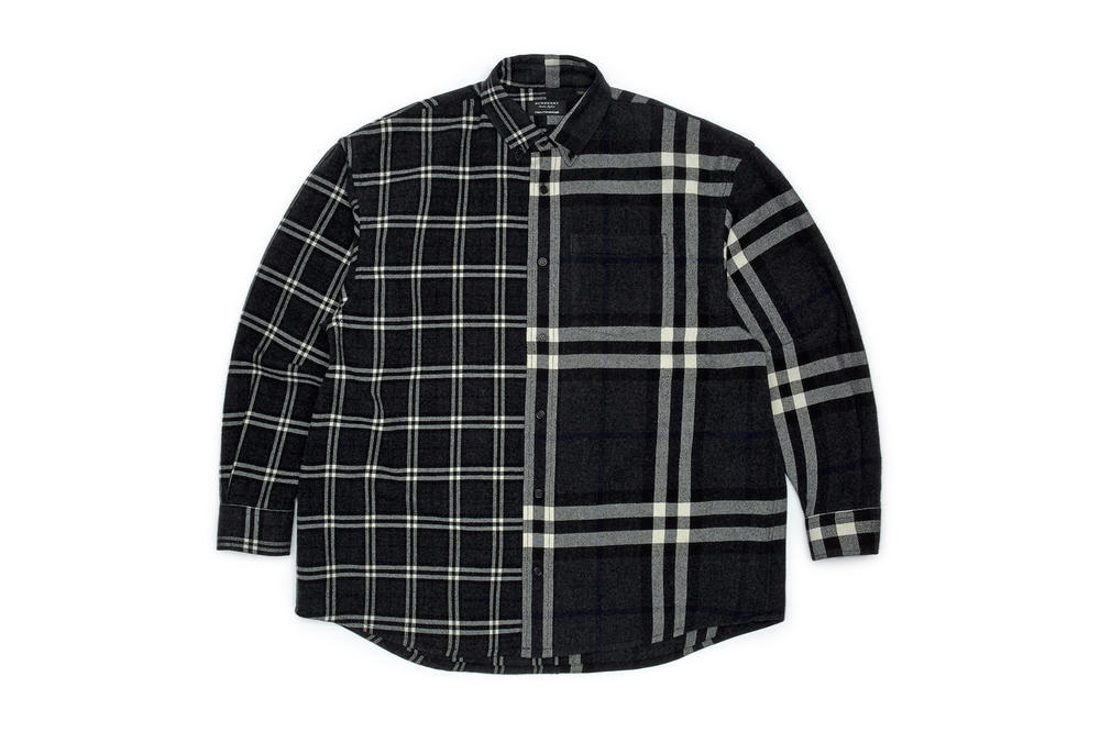 gosha rubchinskiy fall winter 2018 plaid shirt