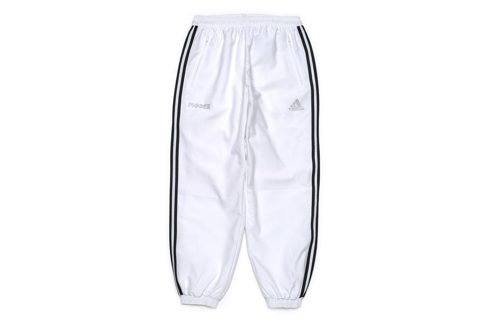gosha rubchinskiy fall winter 2018 white adidas pants