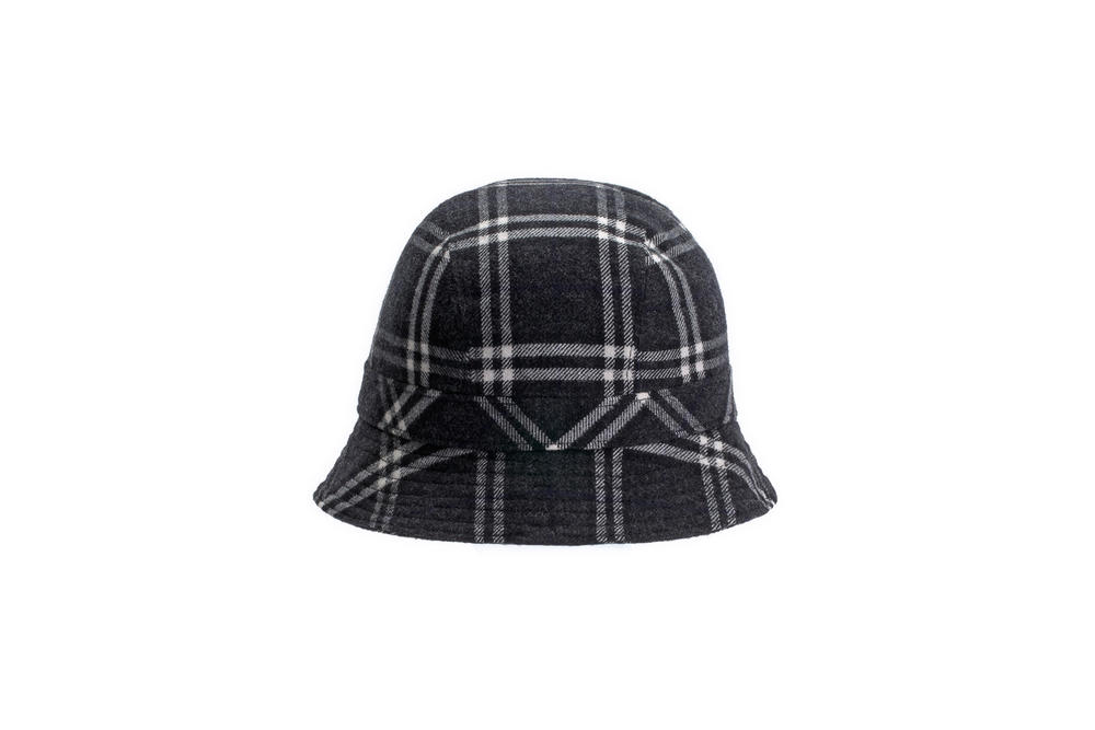 gosha rubchinskiy fall winter 2018 bucket hat burberry check plaid