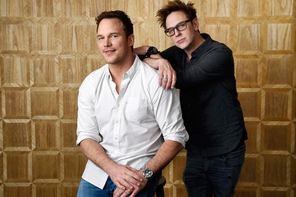 guardians of the galaxy cast support james gunn marvel disney