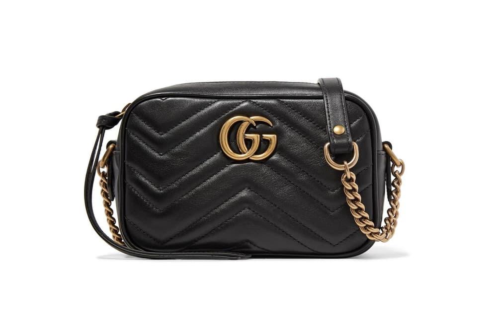 Gucci Marmont Mini Camera Bag Black