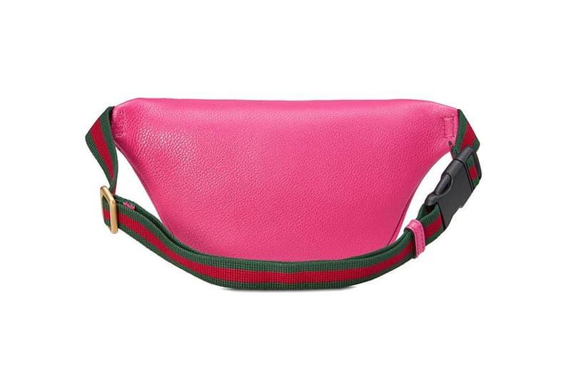 Gucci Logo Belt Bag Pink