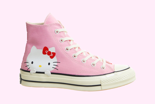 fa381b91a71 Is There Anything Cuter Than These Hello Kitty x Converse Chuck Taylors