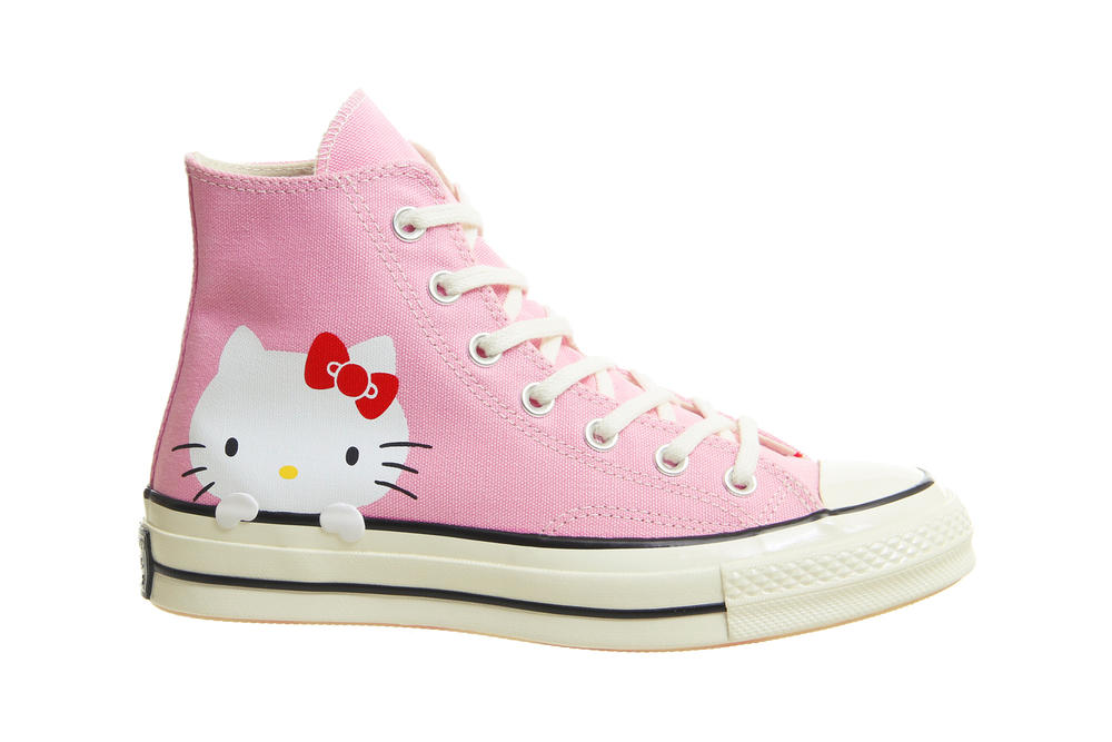 bf7a7c4dee60 Hello Kitty x Converse Chuck Taylor All Star Pink Sanrio Women s Sneakers