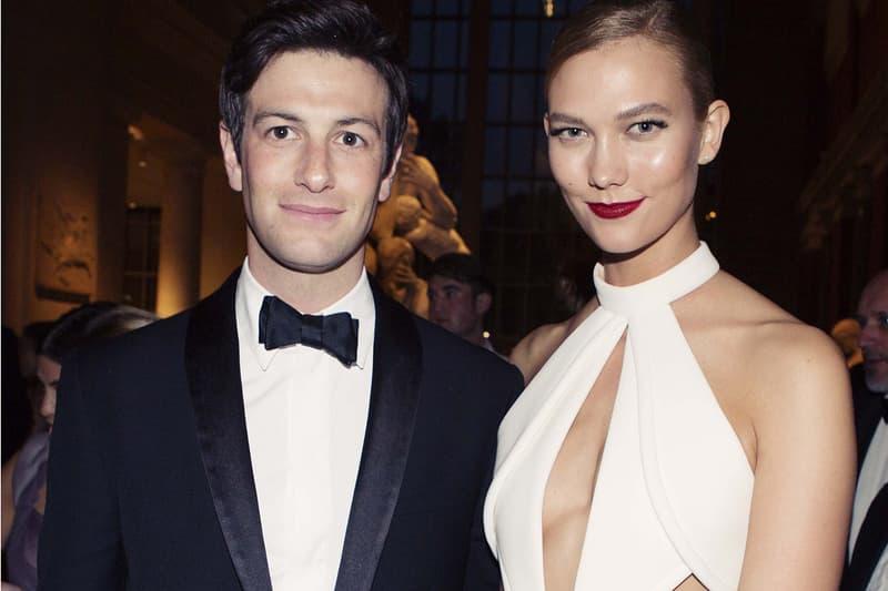 Karlie Kloss Boyfriend Joshua Kushner Met Gala 2016 White Dress Gown