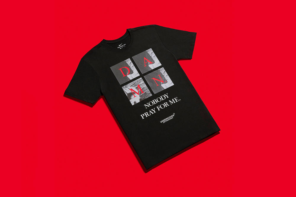 Kendrick Lamar x UNDERCOVER The Damn Pop Up Shop Tokyo T-Shirt Black